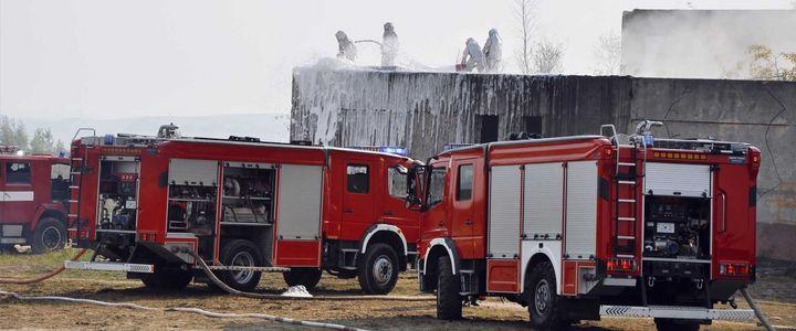 Brandaktuelles Einsatzfeld